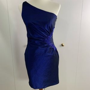 Jessica McClintock 8 formal dress purple